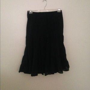 Dresses & Skirts - Tracy Evans Black Peasant Skirt